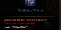 Nautilubus' Whistle