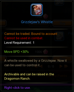 Grizzlejaw's Whistle