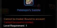 Pebblepin's Saddle