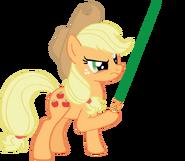 Applejack with Lightsaber