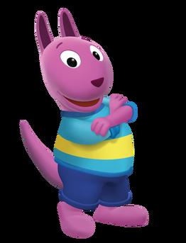 The Backyardigans Austin Nickelodeon Nick Jr. Character Image