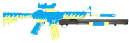 Wonderbolts' M4 carbine with Mossberg 590