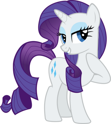 Rarity vector by almostfictional-d5fe4uc
