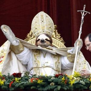 Pope Sloth
