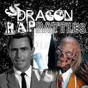 Cover Rod Serling vs Crypt Keeper