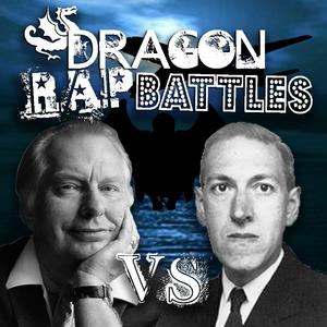 Cover L Ron Hubbard vs HP Lovecraft