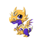 Gilded Knight Baby