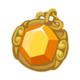 Topaz Medallion