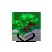 Silver Bonsai Tree