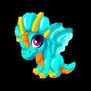 Aquamarine Baby