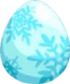 Snowfall Egg