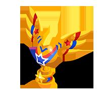 Gold Freedom Trophy