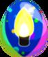 Festive Light Egg