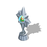 Holiday Silver Trophy