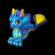 Blue Tang Juvenile