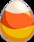 Candy Corn Egg