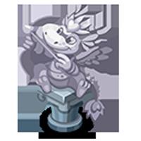 Cupid Dragon Statue
