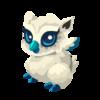 Snow Owl Baby