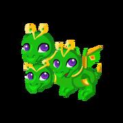 Emerald Knight Baby