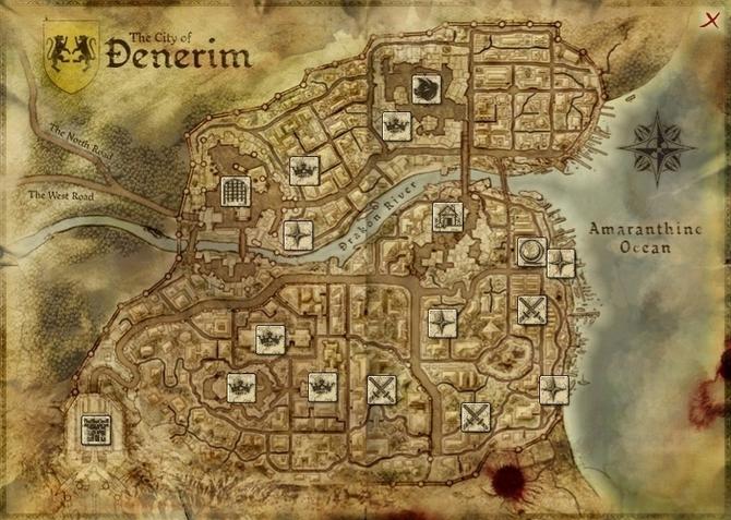 Map - Denerim