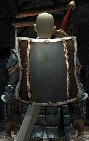 File:DA2 Fereldan Soldier's Shield on Hawke w Fereldan Longsword and Fereldan Field Armor and Gloves.jpg