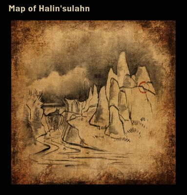Map of Halin'sulahn