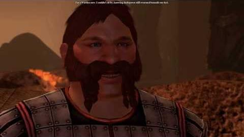 Dragon Age 2 Merin becomes a Grey Warden cut content