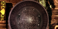 Dwarven Large Round Shield