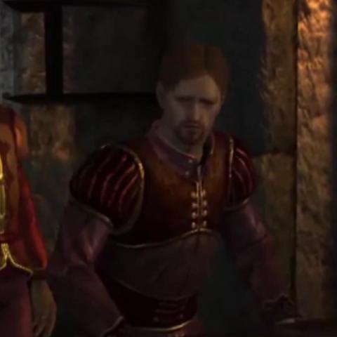 Vaughan at the Landsmeet if he is restored as Arl of Denerim