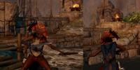 Isabela's Dueling Leathers