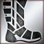 Medium boots silver DA2