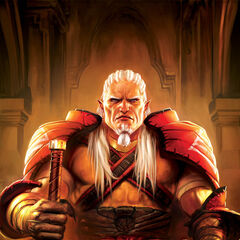 Arishok (formerly Sten) on the third issue's cover