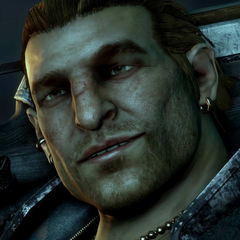Varric close-up