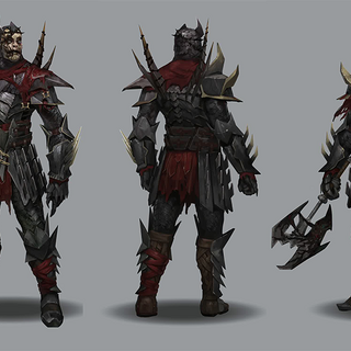 Concept art of The First in <i>Heroes of Dragon Age</i>