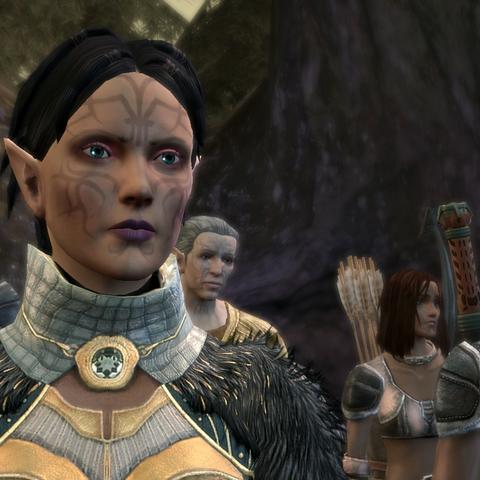 Various members of the Sabrae clan, including Merrill