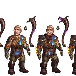 Heroes of Dragon Age Sandal Progression