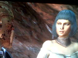 Mother Blue Hair