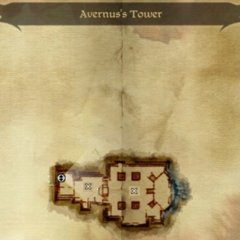 Avernus's Tower Map