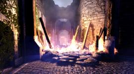 Castle Cousland under attack