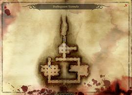 Darkspawn tunnels map dao