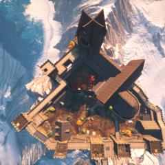 Skyhold from above