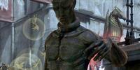 Slave statue