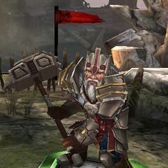 Tier IV Harrowmont in <i>Heroes of Dragon Age</i>