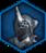 Gladiator helmet icon