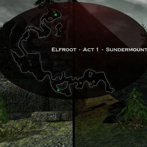 Act 1 – Sundermount Elfroot Map