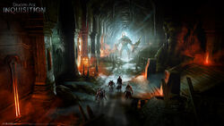 Inquisition cave concept
