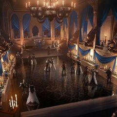 Winter Palace Ballroom Concept Art