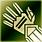 Medium gloves green DA2