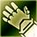 Heavy gloves green DA2