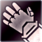 Heavy gloves purple DA2